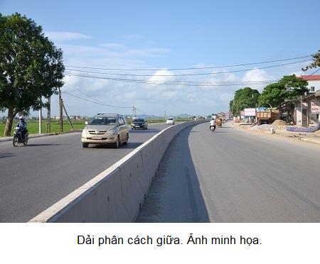 Điều chỉnh các vị trí mở dải phân cách giữa QL.1 đoạn qua tỉnh Đồng Nai