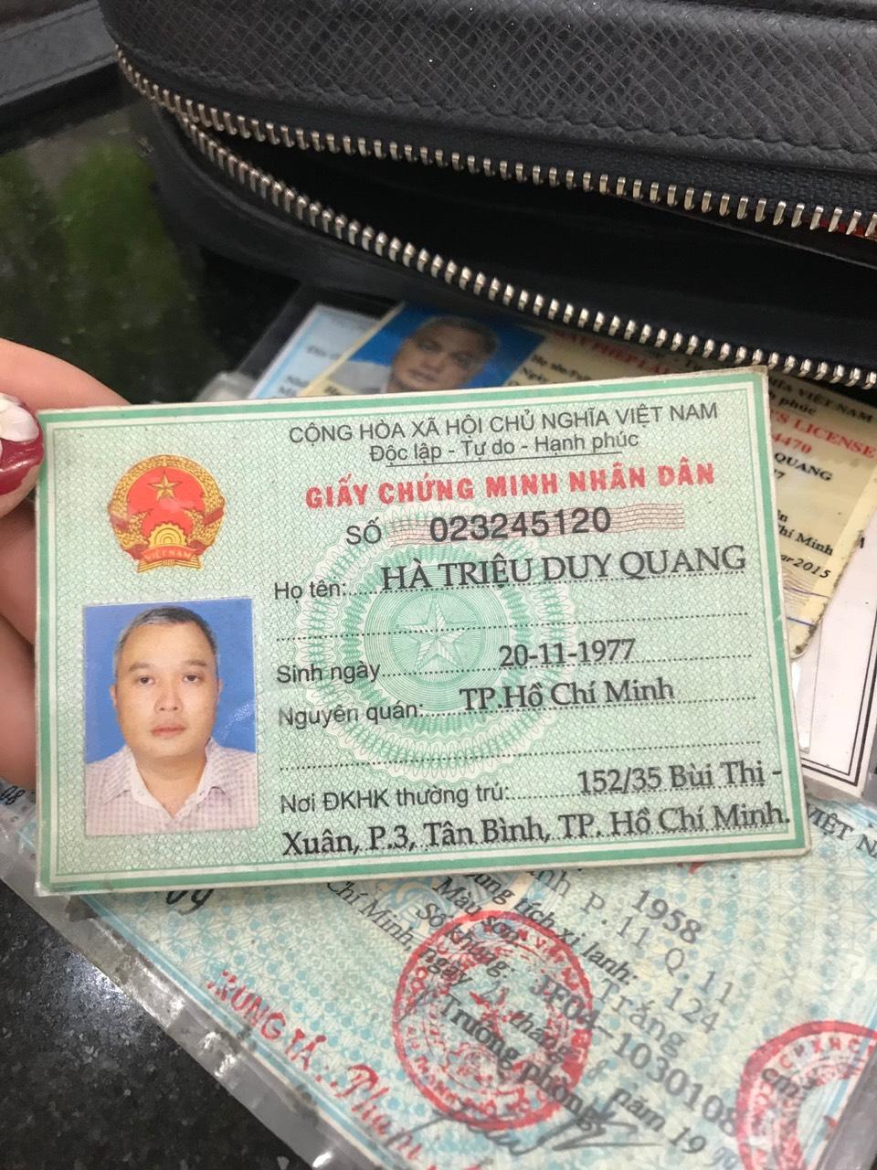 Nhà xe Thành Công đã tìm ra chủ nhân của đồ bị thất lạc tại trạm dừng chân An Bình